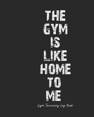 Gym Training Log Book: Gym Diary Workout Log Book - Gym Activity - Cardio & Strength Log - Gym Fitness Notebook, 7.5