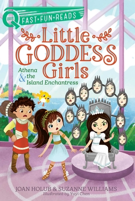 Athena & the Island Enchantress: Little Goddess Girls 5 (QUIX) Cover Image