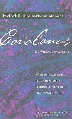 Coriolanus (Folger Shakespeare Library) Cover Image