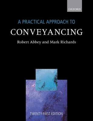 A Practical Approach to Conveyancing Cover Image