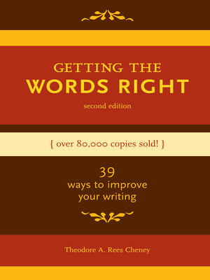 Getting the Words Right Cover Image