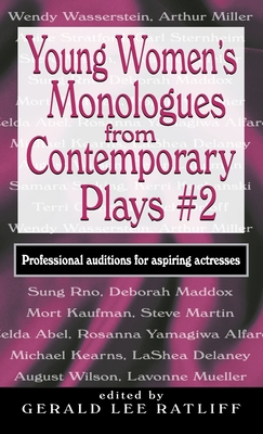 Young Women's Monologues from Contemporary Plays #2: Professional Auditions for Aspiring Actresses Cover Image