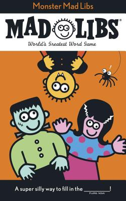 Monster Mad Libs Cover