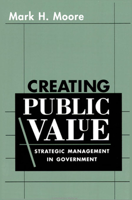 Creating Public Value Cover