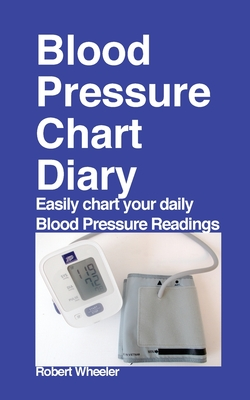 Blood Pressure Chart Diary Cover Image