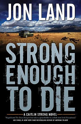 Cover for Strong Enough to Die