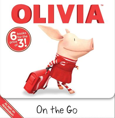 OLIVIA On the Go: Dinner with OLIVIA; OLIVIA and the Babies; OLIVIA and the School Carnival; OLIVIA Opens a Lemonade Stand; OLIVIA Cooks Up a Surprise; OLIVIA Leads a Parade (Olivia TV Tie-in) Cover Image