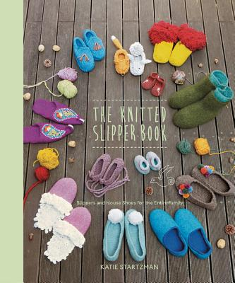 Cover for The Knitted Slipper Book