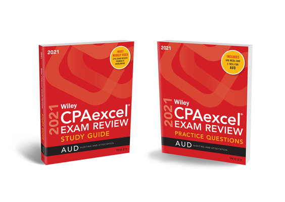 Wiley Cpaexcel Exam Review 2021 Study Guide + Question Pack: Auditing Cover Image