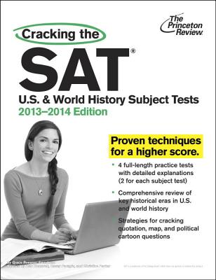 Cracking the SAT U.S. and World History Subject Tests Cover
