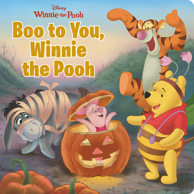 Boo to You, Winnie the Pooh Cover Image