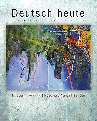 Deutsch Heute: Introductory German Cover Image