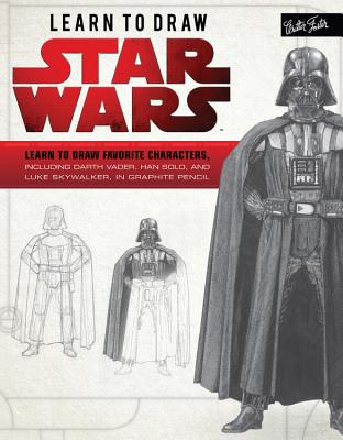 Learn to Draw Star Wars: Learn to draw favorite characters, including Darth Vader, Han Solo, and Luke Skywalker, in graphite pencil (Licensed Learn to Draw) Cover Image