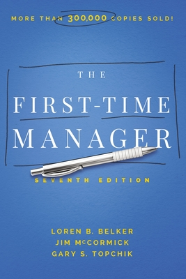 Cover for The First-Time Manager