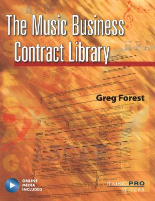 The Music Business Contract Library [With CD (Audio)] (Reference) Cover Image