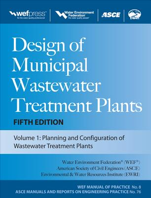 Design of Municipal Wastewater Treatment Plants, 3-Volume Set Cover Image