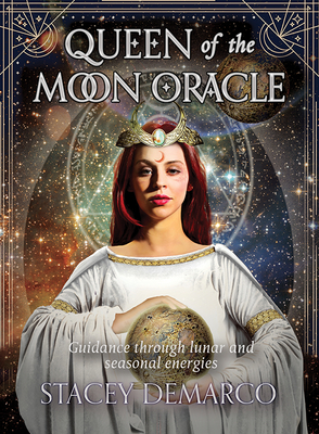 Queen of the Moon Oracle: Guidance through Lunar and Seasonal Energies (Rockpool Oracle Card Series) Cover Image