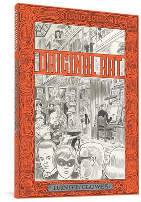 Original Art: Daniel Clowes (The Fantagraphics Studio Edition) Cover Image