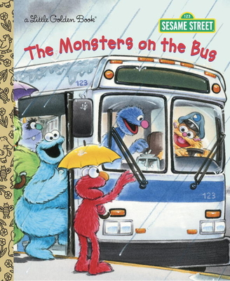 The Monsters on the Bus (Sesame Street) Cover Image