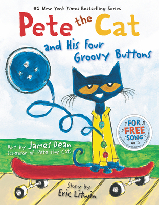 Pete the Cat and His Four Groovy Buttons Cover Image