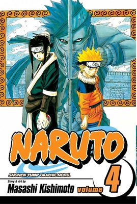 Naruto, Vol. 4 cover image