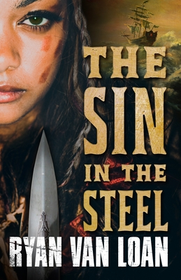Cover for The Sin in the Steel (The Fall of the Gods #1)