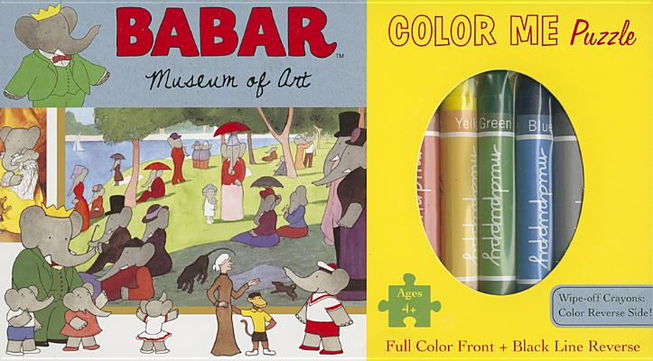 Babar Museum of Art Color Me Puzzle