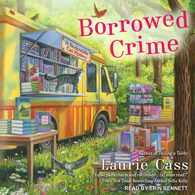 Borrowed Crime (Bookmobile Cat Mystery #3) Cover Image