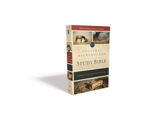 Cultural Backgrounds Study Bible-NIV: Bringing to Life the Ancient World of Scripture Cover Image