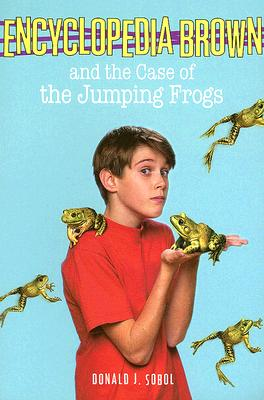 Encyclopedia Brown and the Case of the Jumping Frogs Cover Image