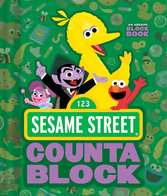 Sesame Street Countablock (An Abrams Block Book) Cover Image