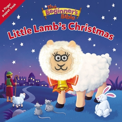 The Beginner's Bible Little Lamb's Christmas: A Finger Puppet Board Book Cover Image