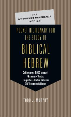 Pocket Dictionary for the Study of Biblical Hebrew Cover Image