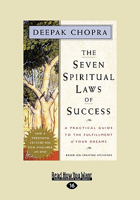 The Seven Spiritual Laws of Success: A Practical Guide to the Fulfillment of Your Dreams (Easyread Large Edition) Cover Image