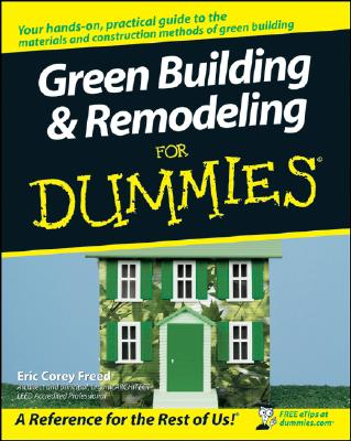 Green Building and Remodeling for Dummies Cover