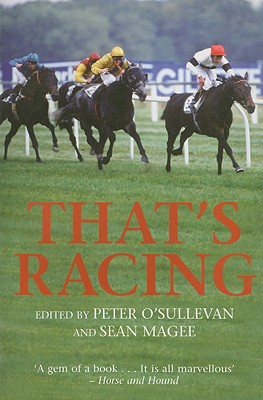 That's Racing (Mainstream Sport) Cover Image
