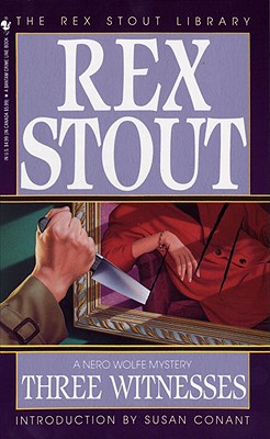 Three Witnesses (Nero Wolfe #26) Cover Image