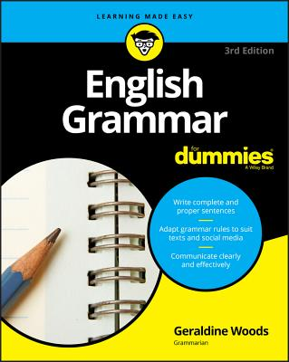 English Grammar for Dummies (For Dummies (Lifestyle)) Cover Image