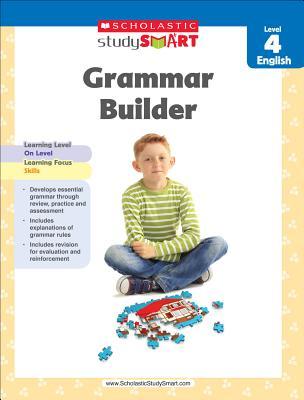 Scholastic Study Smart Grammar Builder Grade 4 Cover Image