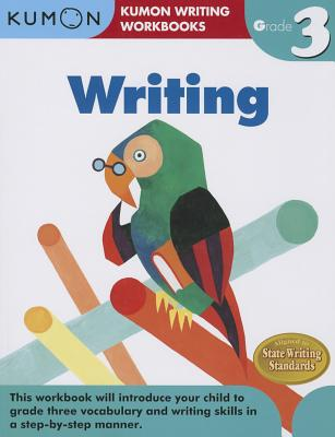 Writing, Grade 3 (Kumon Writing Workbooks) Cover Image