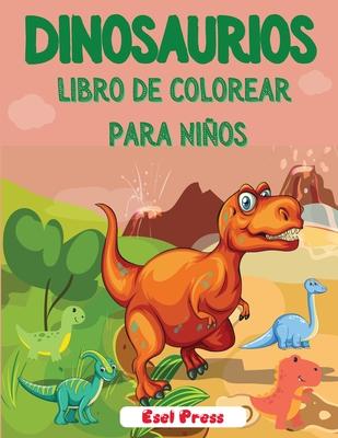 Dinosaurios Libro de Colorear para Niños Cover Image