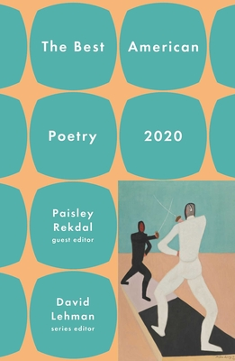 Cover for The Best American Poetry 2020 (The Best American Poetry series)