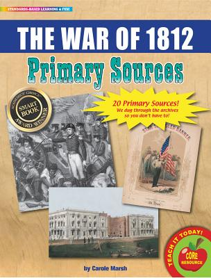 The War of 1812 Primary Sources Pack Cover Image