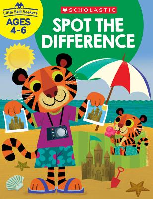 Little Skill Seekers: Spot the Difference Workbook Cover Image