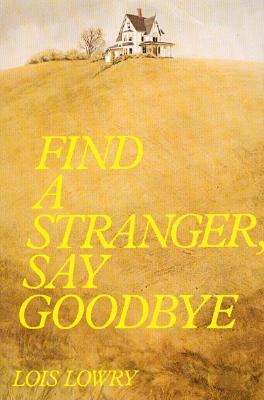Find a Stranger, Say Goodbye Cover