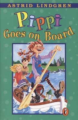 Cover for Pippi Goes on Board (Pippi Longstocking)
