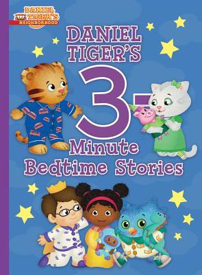 Daniel Tiger's 3-Minute Bedtime Stories (Daniel Tiger's Neighborhood) Cover Image