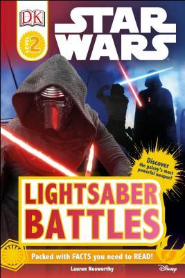 DK Readers L2: Star Wars : Lightsaber Battles (DK Readers Level 2) Cover Image
