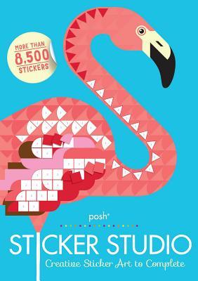 Posh Sticker Studio: Creative Sticker Art to Complete Cover Image