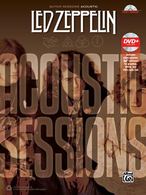 Guitar Sessions -- Led Zeppelin Acoustic: Book & DVD Cover Image